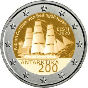 Estland 2 Euro speciaal 2020 UNC