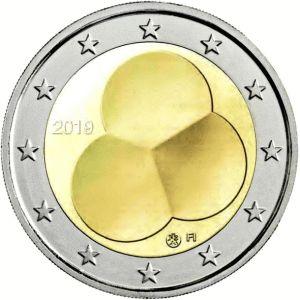 Finland 2 Euro Speciaal 2019 UNC