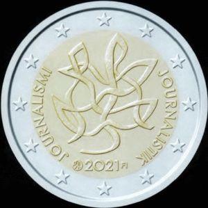 Finland 2 Euro speciaal 2021 UNC