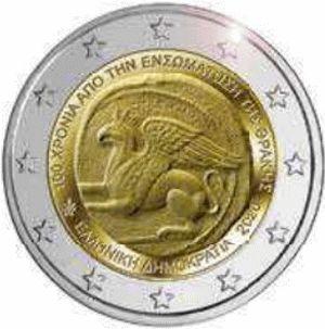 Griekenland 2 Euro Speciaal 2020 UNC