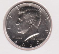 Amerika 1/2 Dollar 2020 P