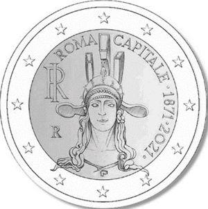 Italie 2 Euro speciaal 2021 UNC