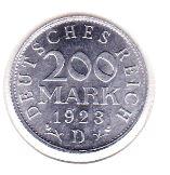 Duitsland 200 Mark 1923 XF/UNC