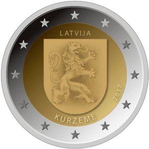 Letland 2 Euro Speciaal 2017 UNC