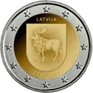 Letland 2 Euro speciaal 2018 UNC