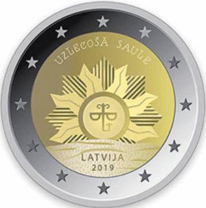 Letland 2 Euro Speciaal 2019 UNC