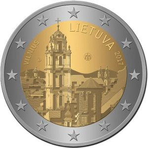 Litouwen 2 Euro Speciaal 2017 UNC