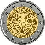 Litouwen 2 Euro Speciaal 2019 UNC