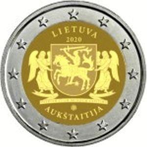 Litouwen 2 Euro Speciaal 2020 UNC