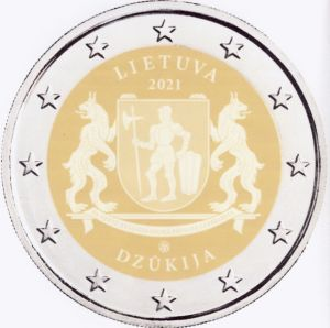 Litouwen 2 Euro speciaal 2021 UNC