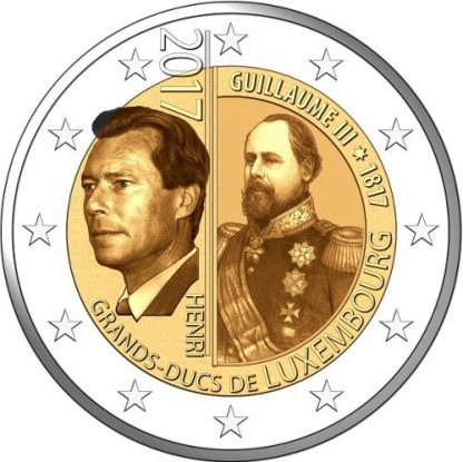 Luxemburg 2 Euro Speciaal 2017 UNC