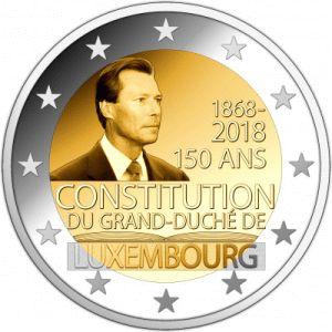 Luxemburg 2 Euro Speciaal 2018 UNC