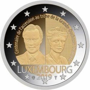 Luxemburg 2 Euro Speciaal 2019 UNC