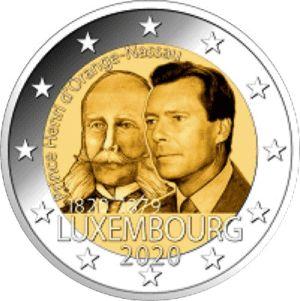 Luxemburg 2 Euro Speciaal 2020 UNC