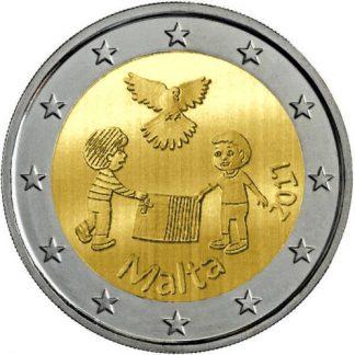 Malta 2 Euro Speciaal 2017 UNC