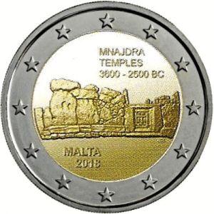 Malta 2 Euro Speciaal 2018 UNC