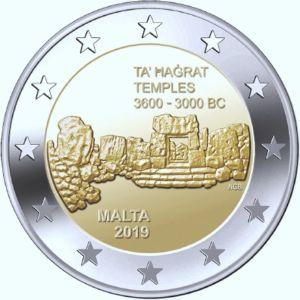 Malta 2 Euro Speciaal 2019 F UNC