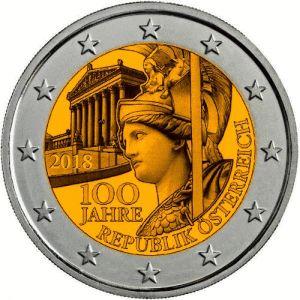 Oostenrijk 2 Euro Speciaal 2018 UNC