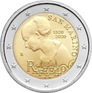 San Marino 2 Euro Speciaal 2020