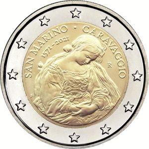 San Marino 2 Euro speciaal 2021 UNC
