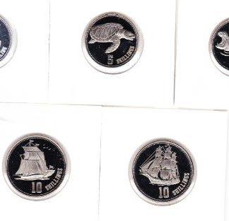 Somaliland set van 5 munten 2019 UNC