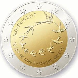 Slovenie 2 Euro Speciaal  2017 UNC