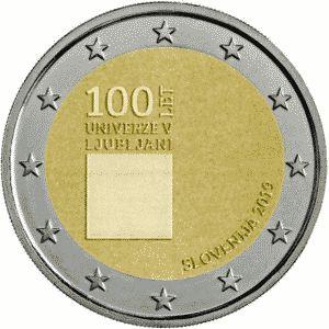 Slovenie 2 Euro Speciaal 2019 UNC