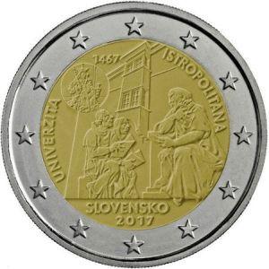 Slowakije 2 Euro Speciaal 2017 UNC