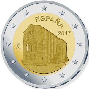 Spanje 2 Euro Speciaal 2017 UNC