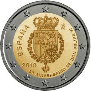 Spanje 2 Euro Speciaal 2018 UNC