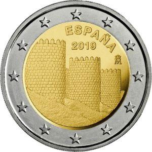 Spanje 2 Euro speciaal 2019 UNC