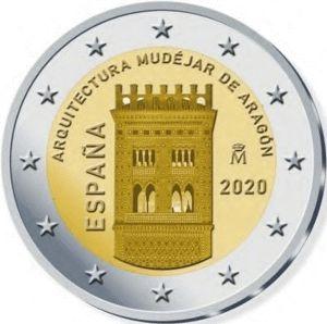 Spanje 2 Euro Speciaal 2020 UNC