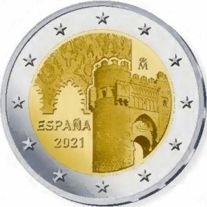 Spanje 2 Euro speciaal 2021 UNC